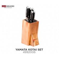 Набор ножей Mikadzo Yamata Kotai + подставка