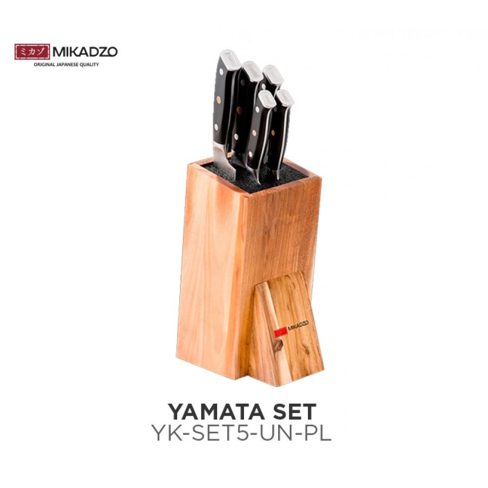 Набор ножей Mikadzo Yamata + подставка
